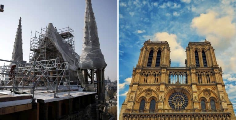 El presidente de Francia asegura que para los Juegos Olímpicos de Paris 2024, los turistas podrán visitar Notre Dame