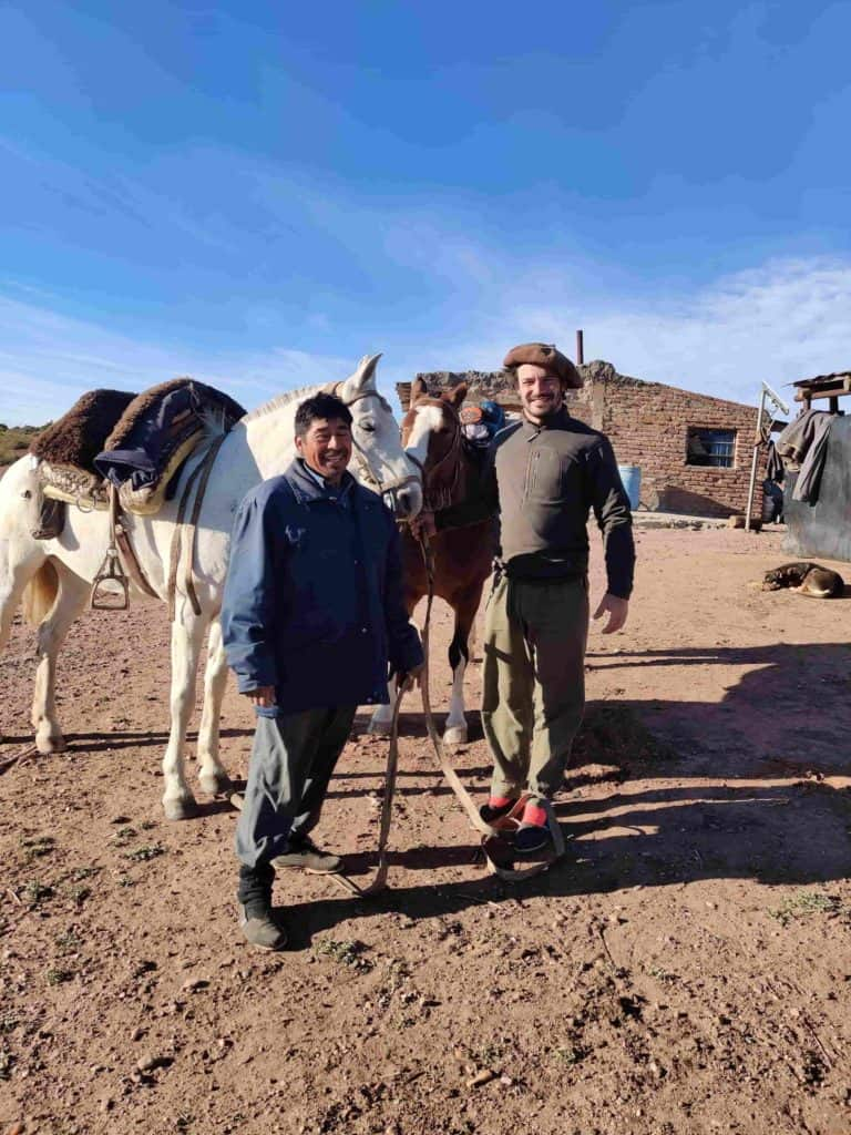 imagen recorrer Argentina a caballo experiencia conocer Argentina a caballo 4