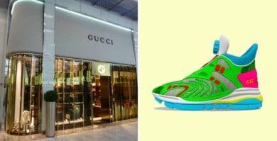 Así son las primeras zapatillas virtuales de Gucci que solo se pueden usar en entornos digitales