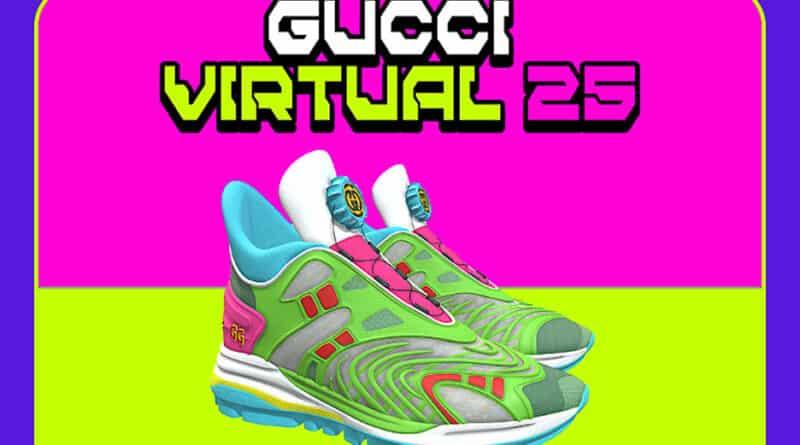 Así son las primera zapatillas virtuales de Gucci que solo se pueden usar en entornos digitales