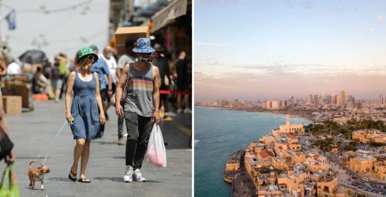 Israel permite la circulación en espacios al aire libre sin tener que usar mascarillas o tapabocas