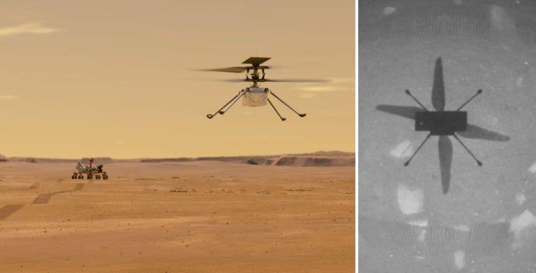 NASA realizó de forma exitosa el primer vuelo controlado en Marte e hizo historia