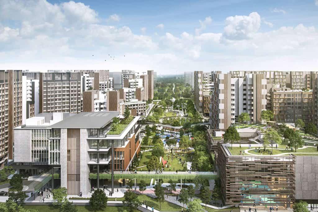 Singapur construirá una ciudad forestal que ofrecerá una abundancia de naturaleza con la promesa de mejorar la salud y el bienestar de los futuros residentes