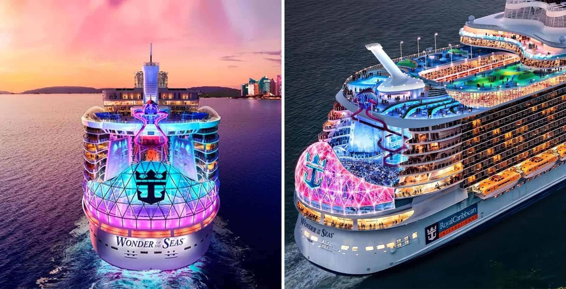 En 2022 el nuevo barco de Royal Caribbean, Wonder of the Seas, hará su debut en China