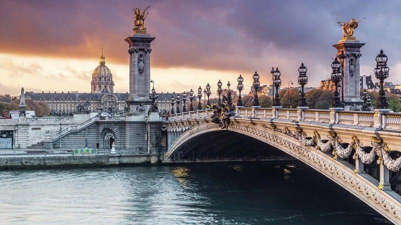 imagen paris Puentes Alejandro III Sena Pari%CC%81s