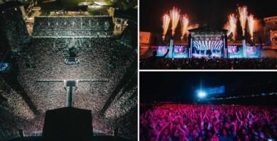 Unas 50.000 personas asistieron a un concierto en Nueva Zelanda