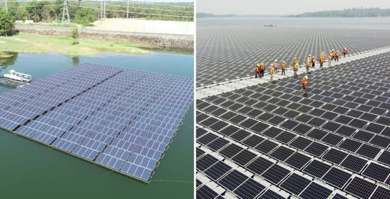 Tailandia está cerca de finalizar la construcción de la planta hidrosolar flotante más grande del mundo