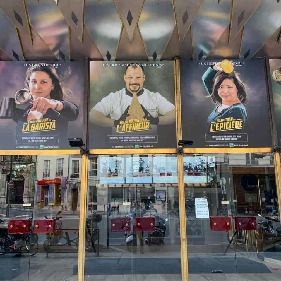imagen Cines de París cines paris afiches 2