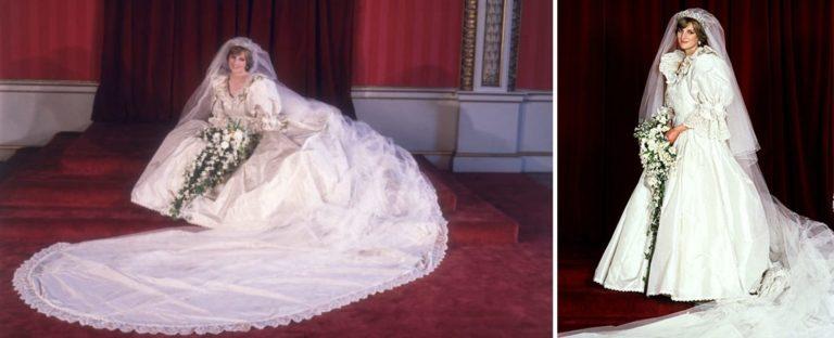 El vestido de boda de Lady Di formará parte de una exhibición en el Palacio de Kensington