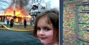 La protagonista del meme 'Disaster Girl' vendió la foto original por 475.000 dólares estadounidenses