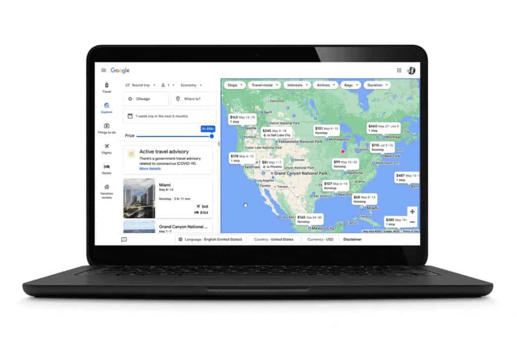Estas son las herramientas que ofrece Google para viajar en tiempos de COVID-19