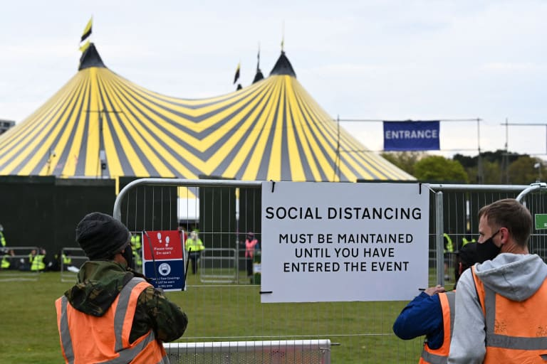 En Inglaterra se realizó el festival de música para unas 5.000 personas en tiempos de COVID-19