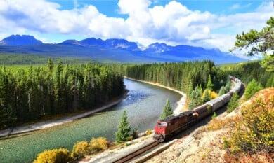 Recorrer Canadá en Tren
