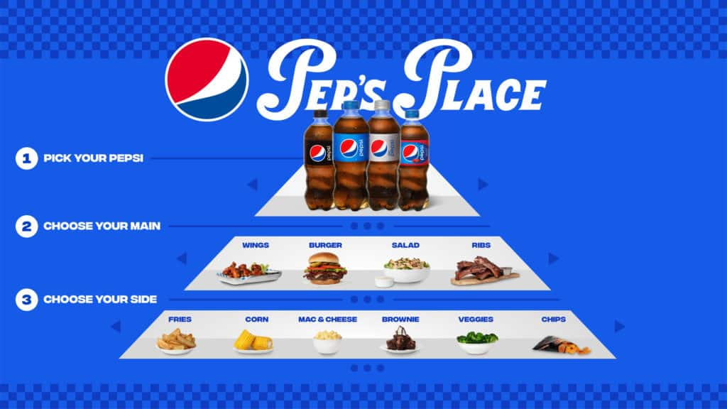 Pepsi lanzó su propio restaurante de comida para llevar donde la protagonista, por supuesto, es la bebida