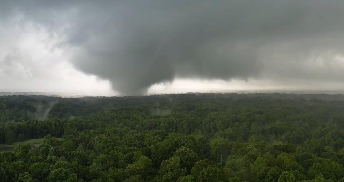 drone tornado