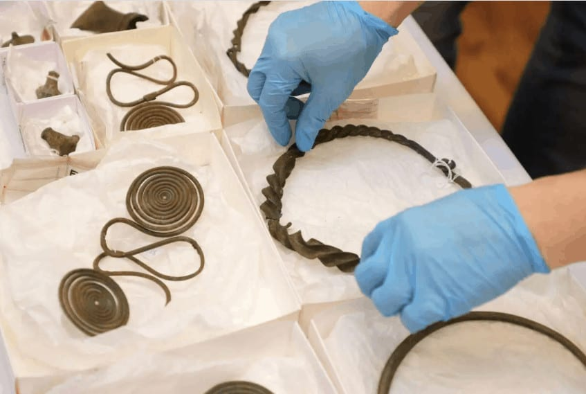 tesoro de más de 2.500 años