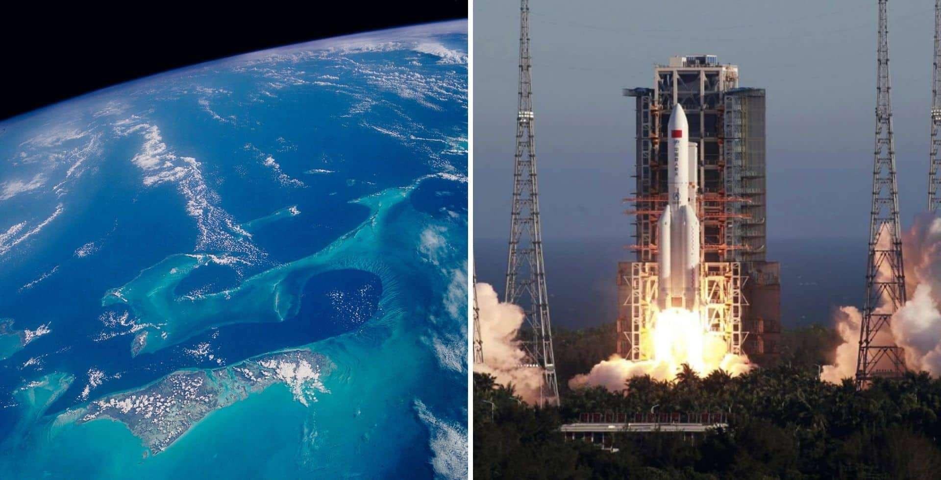 Los restos de un cohete fuera de control volverían a ingresar a la Tierra en los próximos días
