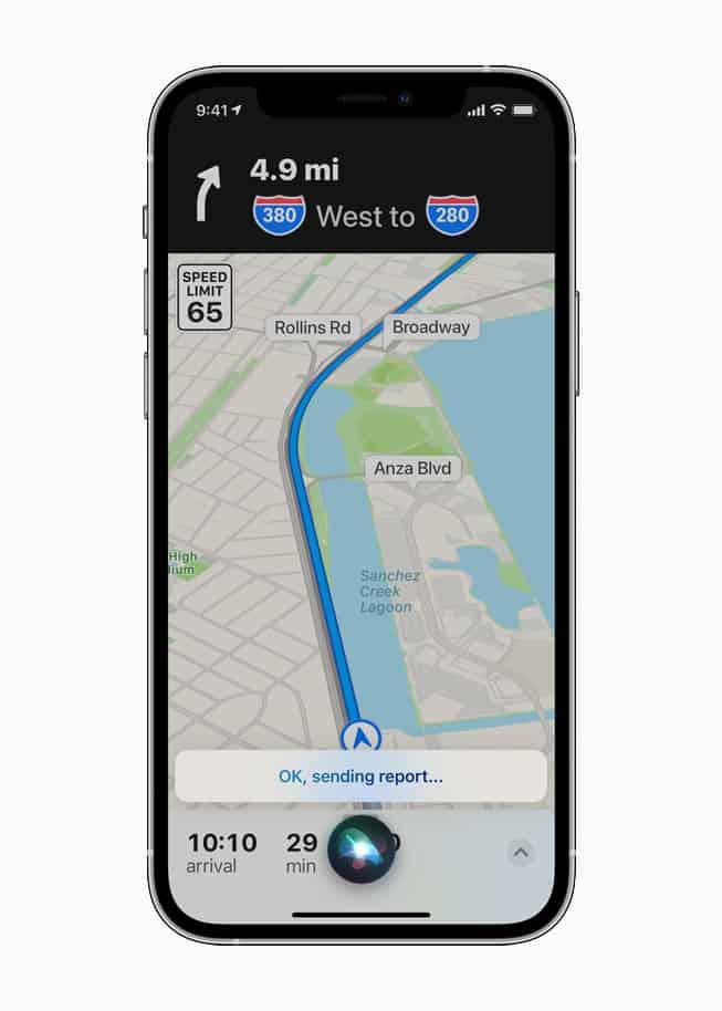 Apple Maps Permitirá Reportar Accidentes De Tránsito Utilizando A Siri