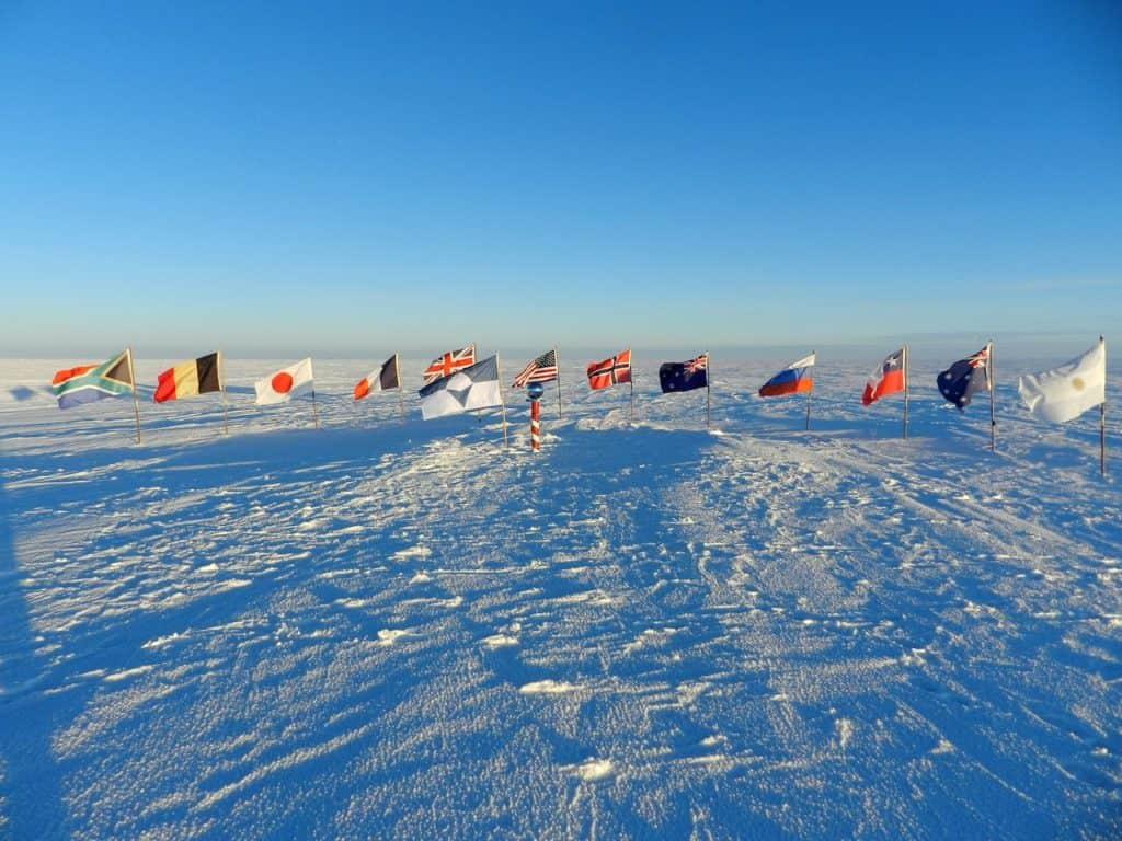 Imagen Bandera De La Antártida Bandera De La Antartida Diseno