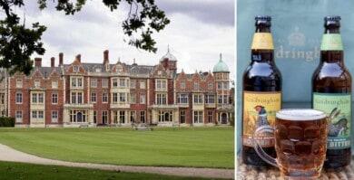 La reina de Reino Unido lanza su propia línea de cervezas y cuenta con 2 variedades distintas