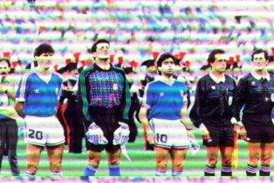 Insultos Argentinos Maradona Italia 90