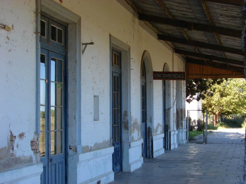 Estación Del Tren En San Antonio De Areco