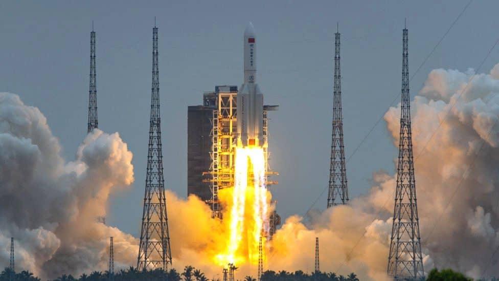 El Cohete Que Se Encontraba Fuera De Control Se Desintegró En El Océano Índico
