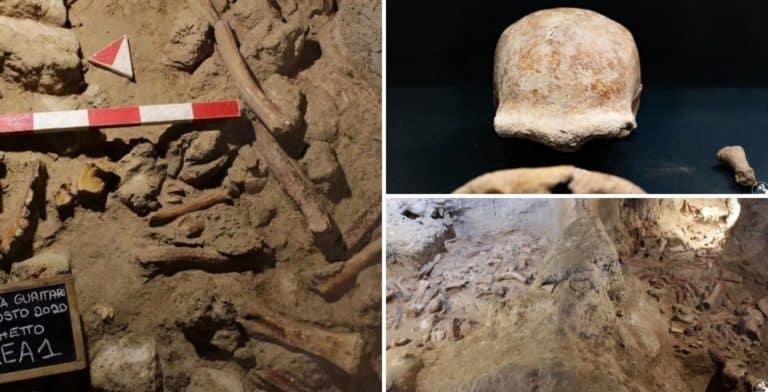 Arqueólogos encontraron restos de 9 neandertales en una cueva de Italia, cerca de Roma