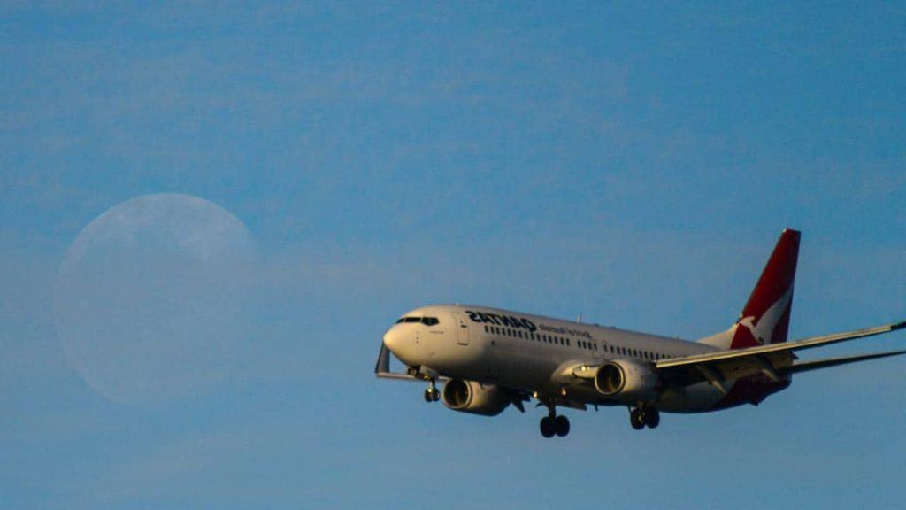 Qantas Airways Vende Un Vuelo Sin Destino Sólo Para Que Los Pasajeros Puedan Ver El Próximo Eclipse Lunar Mientras Se Encuentran En El Cielo