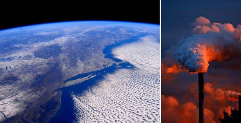 Un estudio publicado recientemente advierte que la estratósfera se está encogiendo por la cantidad de emisiones que generamos