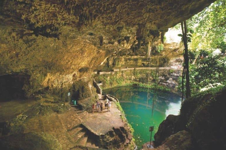 imagen intriper Valladolid Cenote Zaci%CC%81