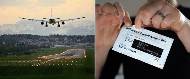 Ahora las personas que viajen a Estados Unidos podrán realizarse una prueba de COVID-19 en sus casas antes de viajar