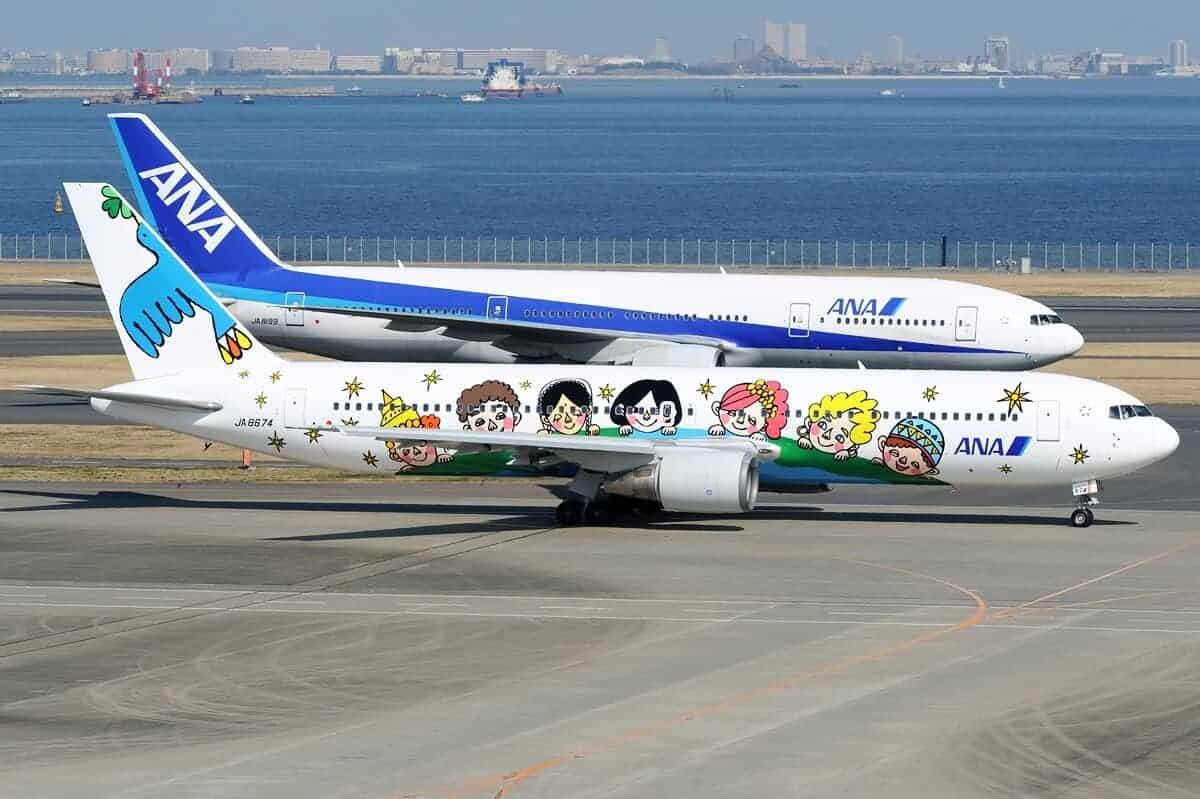 boeing 767 All Nippon Airways737