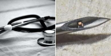 Científicos desarrollaron el chip implantable más pequeño del mundo que permite monitorear el estado del cuerpo