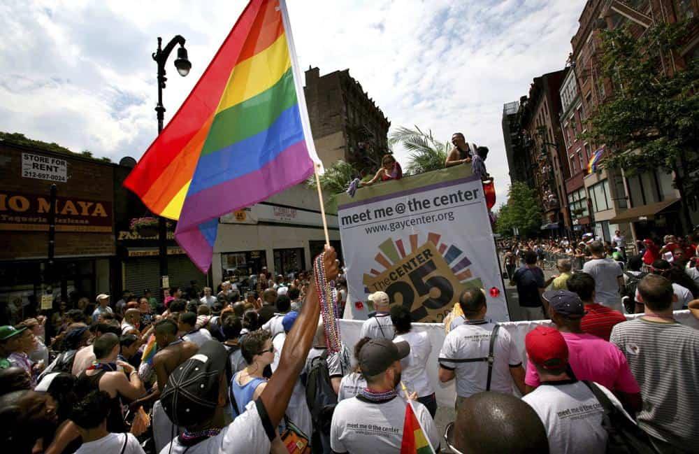 Marcha Del Orgullo En Nyc, 2008