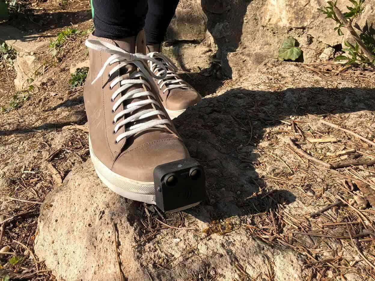 Zapatos inteligentes