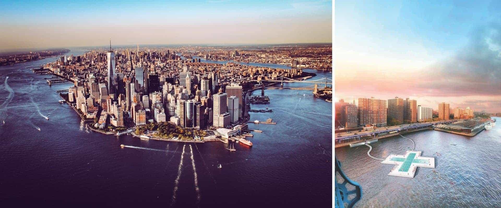 Esta increíble piscina flotante formará parte del paisaje de Nueva York
