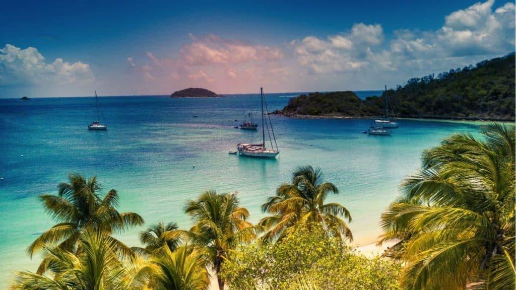 Imagen Isla De Bequia Caribe Bitcoin