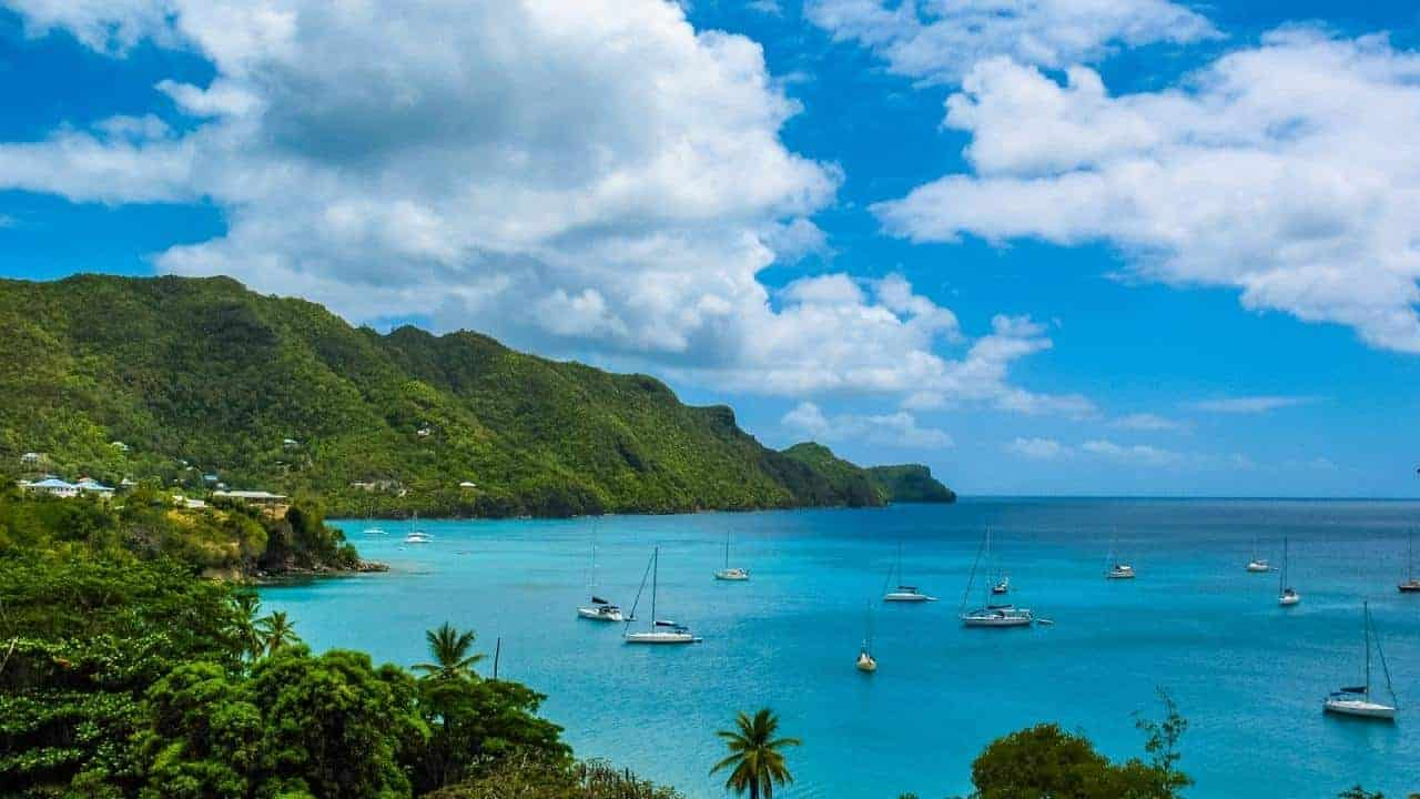 isla del caribe acepta bitcoin