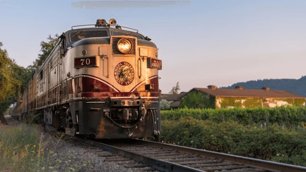 El tren del vino del Valle de Napa regresa a su histórico servicio con un nuevo entorno seguro e higiénico diseñado para que los pasajeros se sientan cómodos