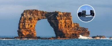 Colapsó el Arco de Darwin, un atractivo natural de las islas Galápagos