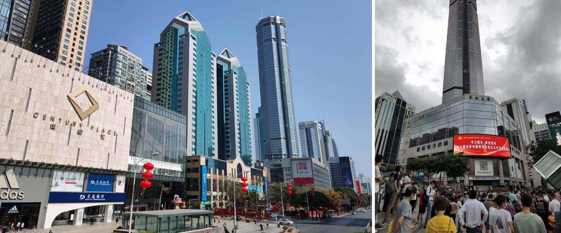 Un rascacielos de China comenzó a temblar de forma misteriosa, generando pánico entre las personas que estaban allí