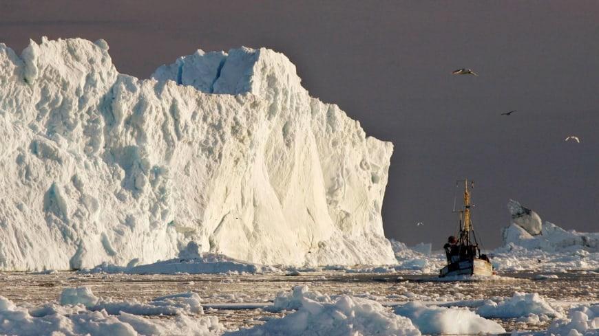 Derretimiento De Hielos En Groenlandia