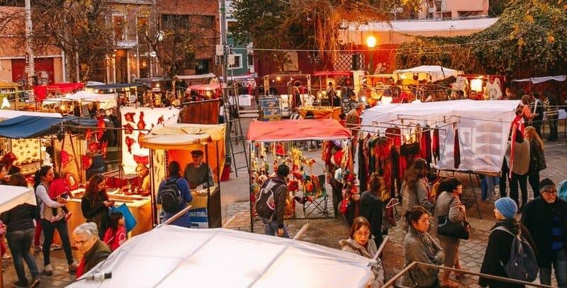 Córdoba con lluvia: Paseo de las Artes