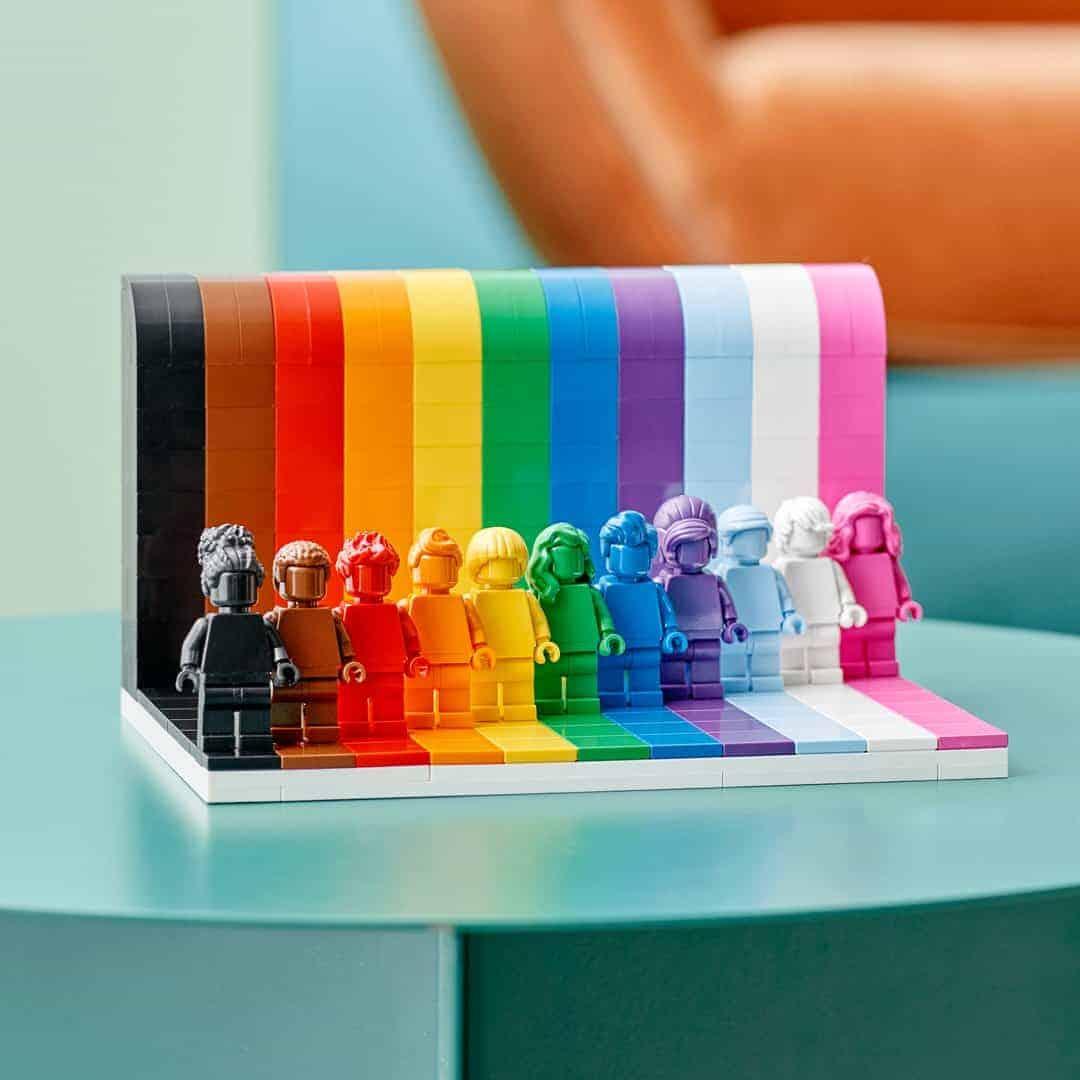 Everyone Is Awesome: LEGO lanzará su primer set para celebrar el mes del orgullo LGBTQ+