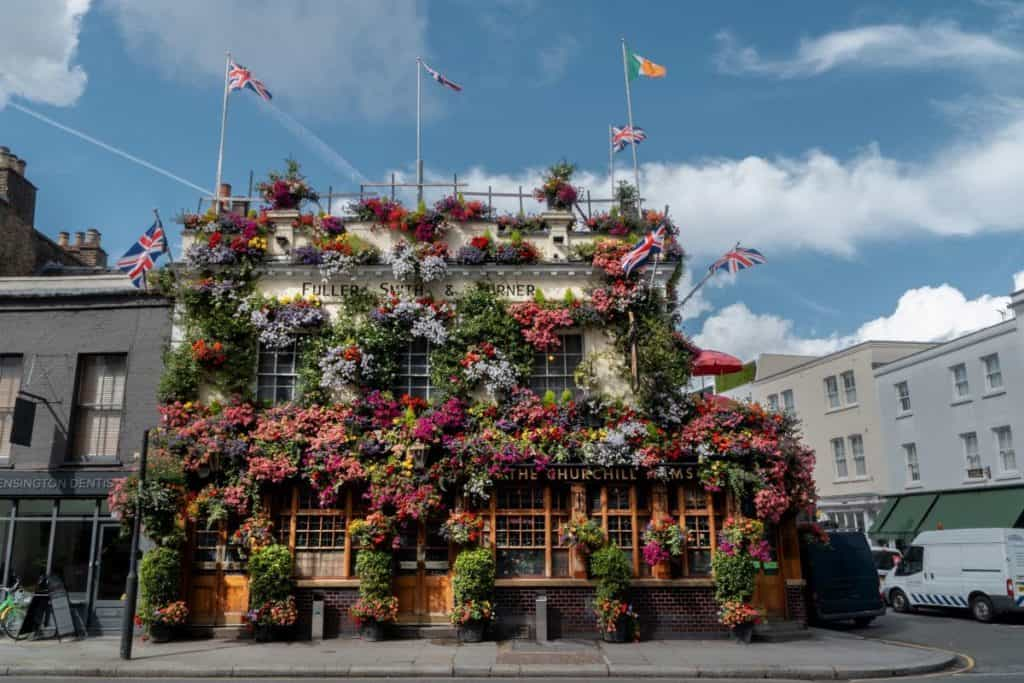 Imagen The Churchill Arms The Churchill Arms Flores