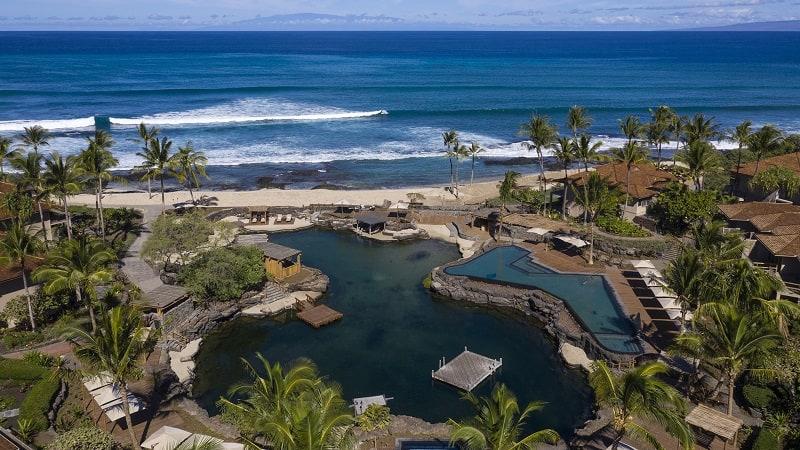 Acuario Del Four Sesons Resort En Hawái
