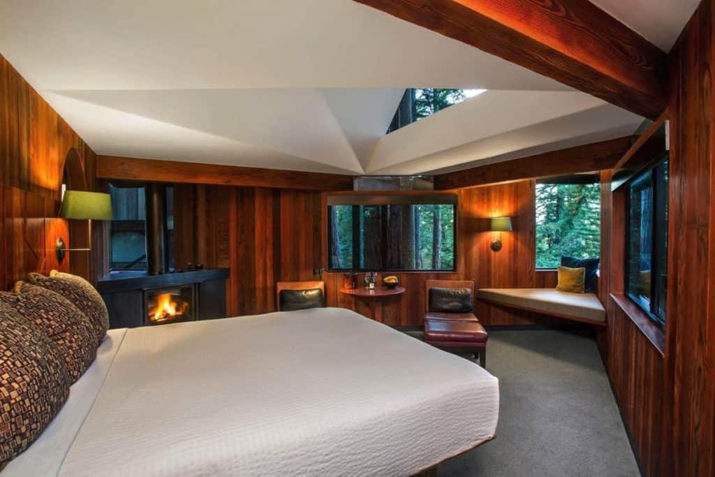 Imagen Mejores Lugares Para Dormir En Casas Del Árbol Post Ranch Inn