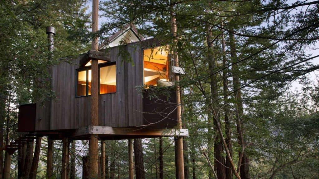 Imagen Mejores Lugares Para Dormir En Casas Del Árbol Post Ranch Inn 06