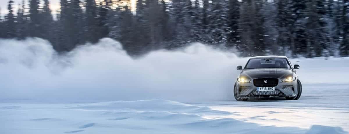 Jaguar Land Rover Ice Academy